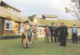 土田畑村の活性化策を探った宮城大生ら