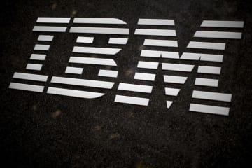 IBMのロゴ(AP=共同)