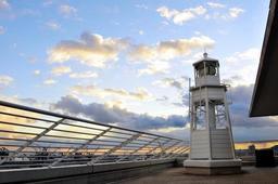 日本で唯一ホテルに立つ灯台(提供写真)