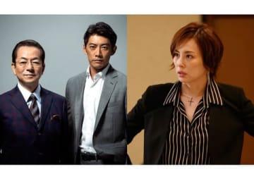 テレビ朝日の人気ドラマ「相棒 シーズン17」(左)と「リーガルV~元弁護士・小鳥遊翔子~」 =テレビ朝日提供