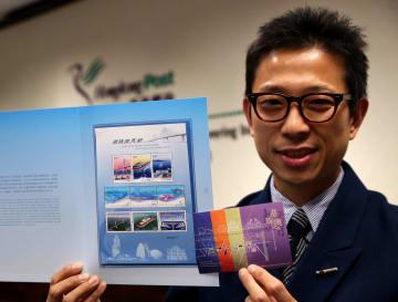 香港郵政、「港珠澳大橋」特別切手30日発売