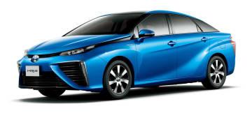 トヨタ自動車が一部改良して発売した燃料電池車「MIRAI」