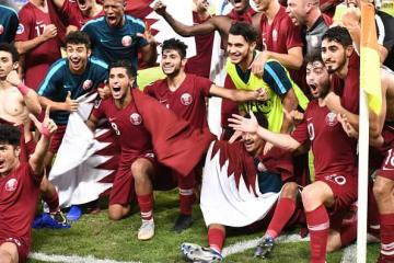 U-19アジア選手権で準決勝に進出したカタール photo/Getty Images