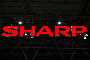 (Getty) Sharp Corp. logo
