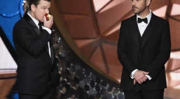 Matt Damon Trolls Jimmy Kimmel: 68th Annual Primetime Emmy Awards - Show