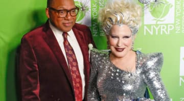 Bette Midler hosts Hulaween event in New York