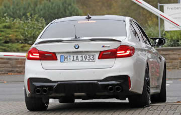 BMW M5 CS スクープ写真