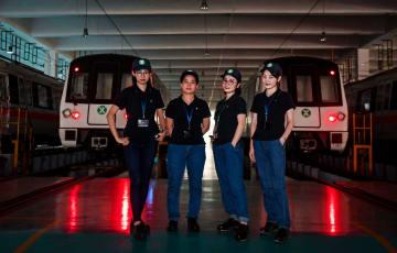 地下鉄の整備場を支える「女子力」 広東省深圳市