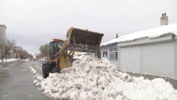 黒竜江省呼瑪県で35年ぶりの大雪