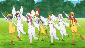 テレビアニメ「ゾンビランドサガ」の第5話「君の心にナイスバード SAGA」の一場面(C)ゾンビランドサガ製作委員会
