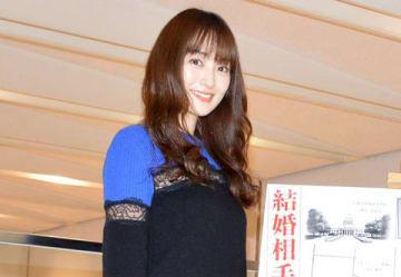 名古屋市内で行われた連続ドラマ「結婚相手は抽選で」の会見に出席した高梨臨さん