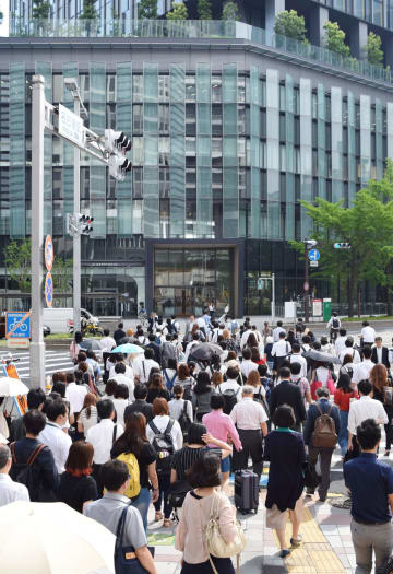 資料 Commuters in Nagoya in 2017     2017062900634
