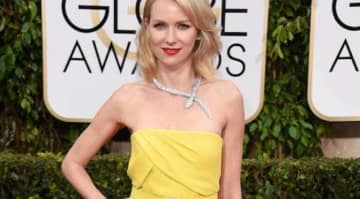 BEVERLY HILLS, CA - JANUARY 11: Actress Naomi Watts attends the 72nd Annual Golden Globe Awards at The Beverly Hilton Hotel on January 11, 2015 in Beverly Hills, California. (Photo by Frazer Harrison/Getty Images)