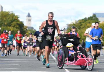 米海兵隊マラソン大会、ワシントンで開催