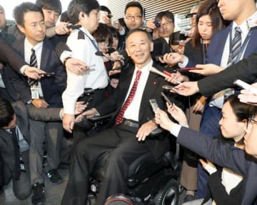 谷垣禎一 前幹事長 自民党 安倍 総理 官邸 自転車 事故 谷垣 禎一 待望論