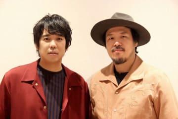 スキマスイッチの(左から)大橋卓弥、常田真太郎さん