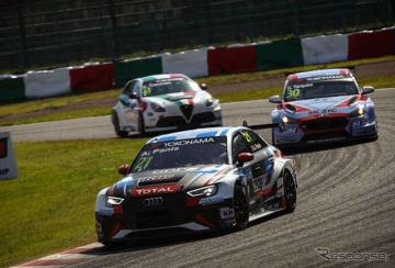 Audi SportがWTCRに参戦する理由をプロジェクトマネージャーに訊いた。写真はAudi RS3 LMS(#21 A.パニス)