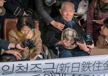 元徴用工、新日鐵住金に損害賠償を求め訴訟 韓国最高裁が賠償命令(写真:Lee Jae-Won/アフロ)