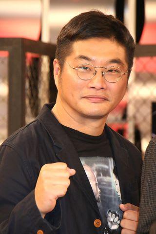 「UFC」の特別番組「UFC IS BACK! 究極格闘技が帰ってくる」の収録後の会見に登場した松尾諭さん