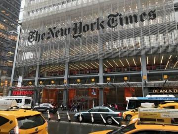 ニューヨーク・タイムズの本社