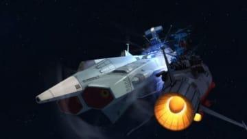 「宇宙戦艦ヤマト2202 愛の戦士たち」のテレビアニメ版の第5話「激突!ヤマト対アンドロメダ」の一場面(C)西崎義展/宇宙戦艦ヤマト2202製作委員会