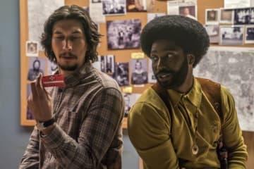 主演はデンゼル・ワシントンの息子! アダム・ドライヴァーとジョン・デヴィッド・ワシントン『ブラック・クランズマン』 - (C)2018 FOCUS FEATURES LLC, ALL RIGHTS RESERVED.