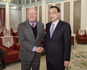 李克強総理、米上下両院訪中代表団と会見