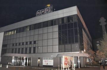 NHK札幌放送局=2日夜、札幌市