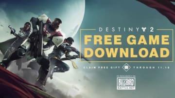 アクションRPG『Destiny 2』PC版期間限定無料配布!【BlizzCon2018】