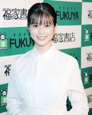 写真集「今田美桜ファースト写真集 生命力」の発売記念イベントを開催した今田美桜さん
