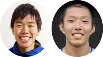 [左]京産大の日下聖也選手 [右]帝京大の岩佐壱誠選手