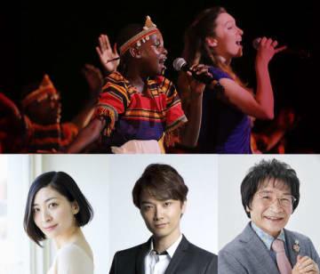 ドキュメンタリー映画「シンプル・ギフト~はじまりの歌声~」にコメントを寄せた(下段左から)坂本真綾さん、井上芳雄さん、尾木直樹さん