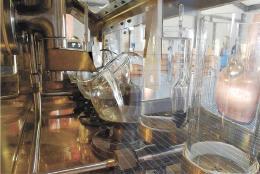 ウイスキー原酒の製造が始まった遊佐蒸留所