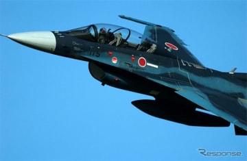 ツインリンクもてぎで開催されるSUPER GT Round8で、F-2B 戦闘機が歓迎フライト