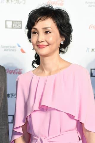 アジア最大級の映画祭「第31回東京国際映画祭」のレッドカーペットイベントに登場した南果歩さん