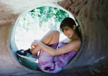 「週刊ヤングジャンプ」48号の表紙に登場した今田美桜さん (C)桑島智輝/集英社