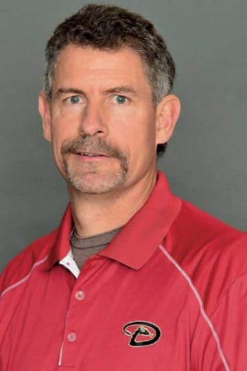 Dバックスのヘッドトレーナー、ケン・クレンショー氏