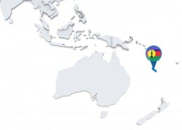 ニューカレドニア。