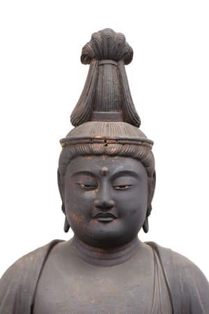 聖観音坐像(滋賀県指定文化財 寂光寺蔵 鎌倉時代)
