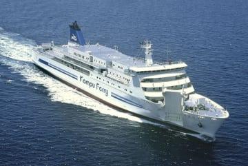 関釜フェリーの4代目日本籍船「はまゆう」