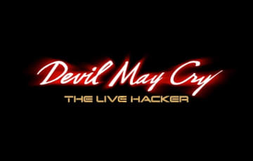 「Devil May Cry」が舞台に! 「DEVIL MAY CRY - THE LIVE HACKER-」ロゴ