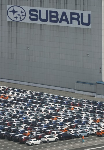 Cars exported from Japan