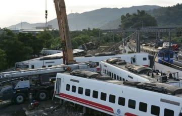 Railway derailment in Taiwan