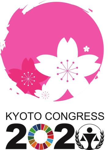 「第14回国連犯罪防止刑事司法会議」で使用するロゴ