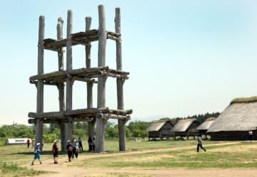 青森市の三内丸山遺跡