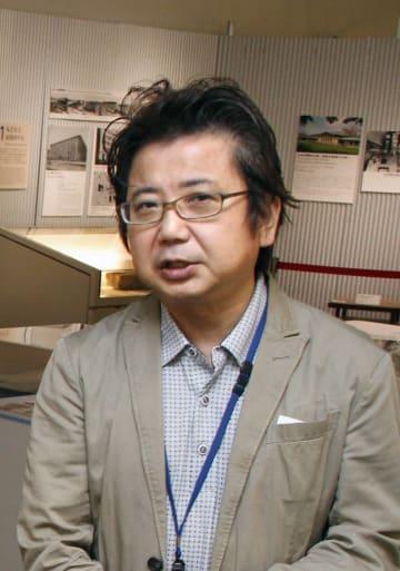 江戸東京博物館研究員の米山勇さん=東京都小金井市