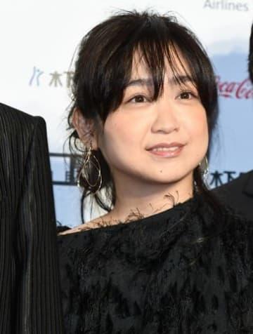 「第31回東京国際映画祭」のレッドカーペットイベントに登場した池脇千鶴さん