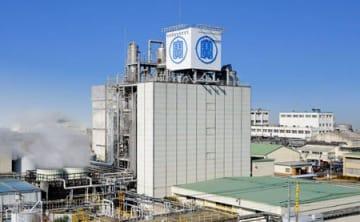 缶チューハイの製造設備を増強する宝酒造松戸工場(千葉県松戸市)
