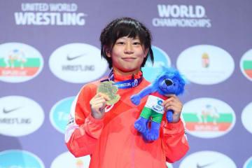 女子55kg級でランキング2位となった向田真優(至学館大)だが、非オリンピック階級のため、東京オリンピックのシード権にはつながらない=撮影・保高幸子