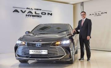 韓国トヨタは、「アバロンハイブリッド」の投入で韓国におけるHVラインアップをさらに強化する(同社提供)